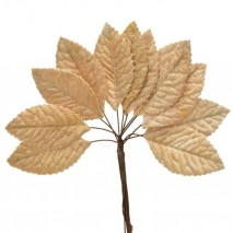 Pomito flor mini tela hojas...