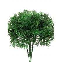 Pick plástico verde pino