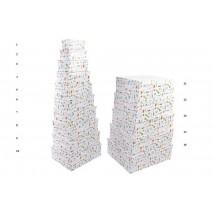 Caja carton rectangular papeleria 30 x 22 x 12 cm