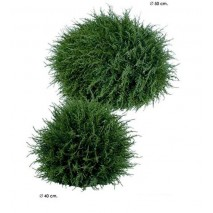 Bola artificial cedro d. 40 cm
