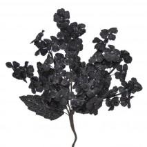Pomito tela terciopelo miosotis x 6 ramas negro
