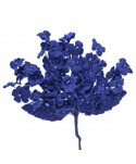 Pomito tela terciopelo miosotis x 6 ramas azulina