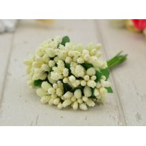 Pomito flor mini pasta pistilos x 12 beige