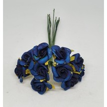 Pomito flor mini foam rosita abierta d.1,5 x 10 azul