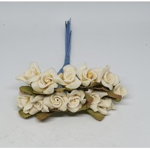 Pomito flor mini foam rosa shang d.2 cm x 12 beige