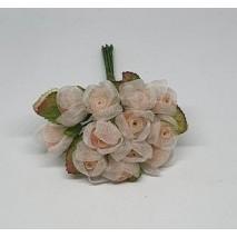 Pomito flor mini organza...