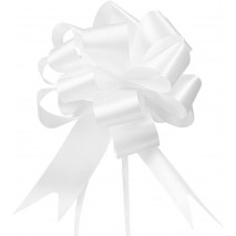 Lazos de bancos iglesia 31 mm cinta polipropileno blanco