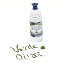 Pintura acrilica porcelana 60 ml verde oliva