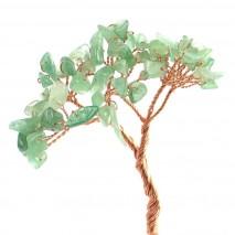 Pomito flor mini pedreria natural x 48 verde