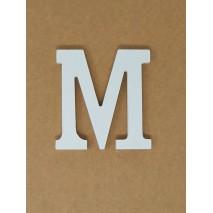 Letra corporea madera 11 cm m