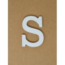 Letra corporea madera 11 cm s