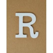 Letra corporea madera 11 cm r