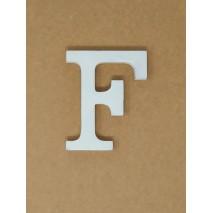 Letra corporea madera 11 cm f