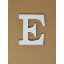 Letra corporea madera 11 cm e