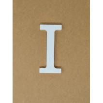Letra corporea madera 11 cm i