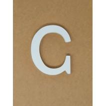 Letra corporea madera 11 cm c