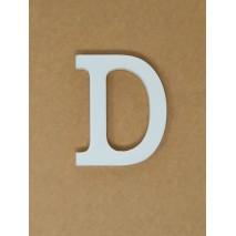 Letra corporea madera 11 cm d