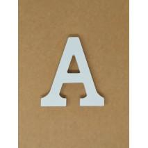 Letra corporea madera 11 cm a