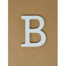Letra corporea madera 11 cm b