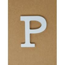 Letra corporea madera 11 cm p