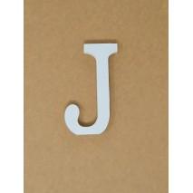 Letra corporea madera 11 cm j