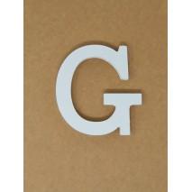Letra corporea madera 11 cm g