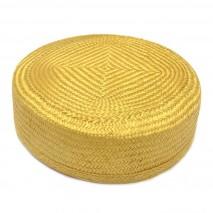 Base tocado buntal casquete 18 x 17 x 6 cm dorado