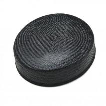 Base tocado buntal casquete 18 x 17 x 6 cm negro