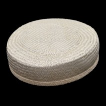 Base tocado buntal casquete 18 x 17 x 6 cm crudo