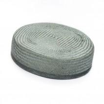 Base tocado buntal casquete 18 x 17 x 6 cm gris plata