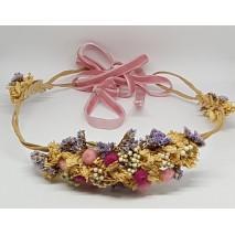 Corona abierta de niña línea Zahara de 50 cm