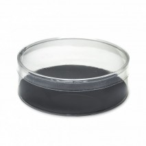 Caja acetato tocado d.13 cm x  4 cm