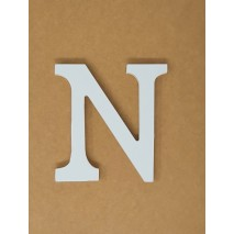 Letra corporea madera 11 cm n