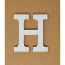 Letra madera 11 cm H