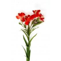 Alstroemeria artificial luxe x 5 flores coral
