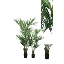 Planta artificial   palmera kentia tronco muy natural 150 cm