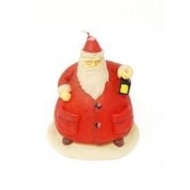 Vela muñeco Papa Noel 10 x 14 cm
