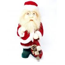 Figura Papa Noel rojo 54cm