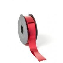 Rollo cinta papel metalizada 30mm x 68mtos. roja