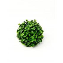 Bola artificial boj verde d 12 cm
