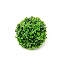 Bola artificial boj verde d 15 cm