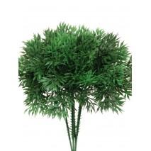 Pomo 12 pick plástico verde pino