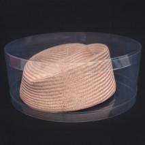 Caja acetato tocado d 25 cm x 10 cm apilable