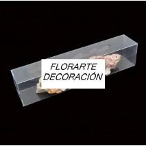 Caja acetato cinturones rectangular 33 x 6 x 7 cm