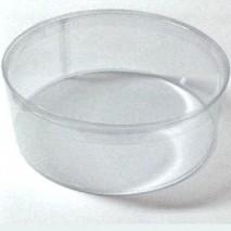 Caja acetato  tocado d 23 cm x 6 cm apilable coronita