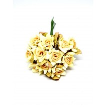 Pomito flor mini foam rosa shang pico x 12 amarilla