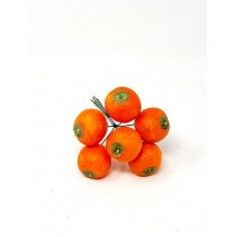Caja 8 pick 6 naranjas d 3 5cm