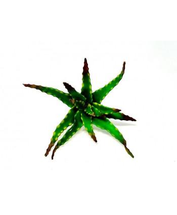 Planta artificial mini d 28cm cactus pita foam