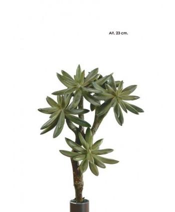 Planta artificial mini plástico sedum x 5cm Alt 23cm