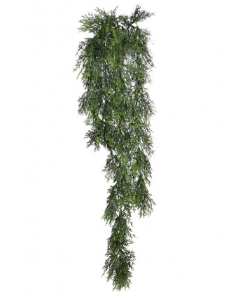 Colgante plástico ciprés 90 cm
